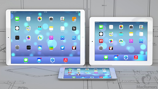 iPad 12.9 Pulgadas - iPad Air - iPad mini Retina
