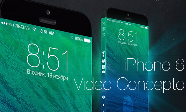 iPhone 6 Video Concepto