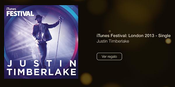 12 dias de regalos - Justin Timberlake