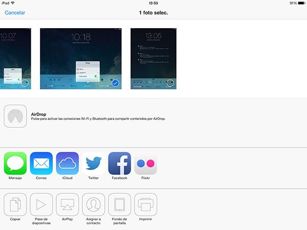 Guia AirPlay - Compartir Fotos Videos