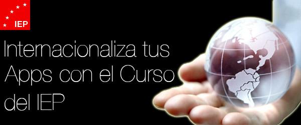 Internacionaliza Apps Curso IEP