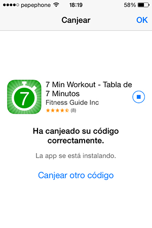 7 Min Workout - Descarga