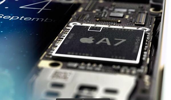 Apple A7 Chip iPhone 5s iPad Air iPad mini Retina