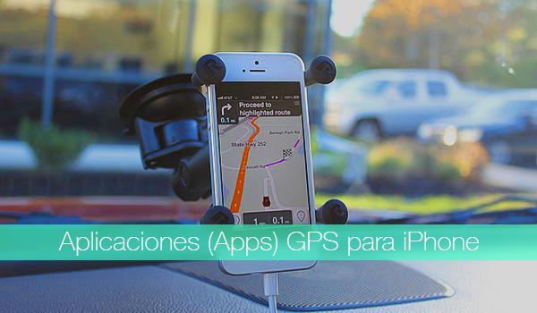 Apps GPS iPhone iPad