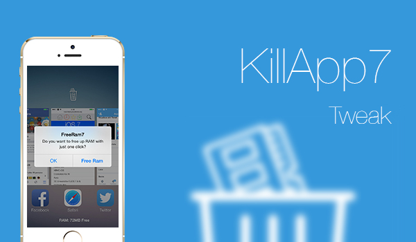 KillApp7 - Tweak
