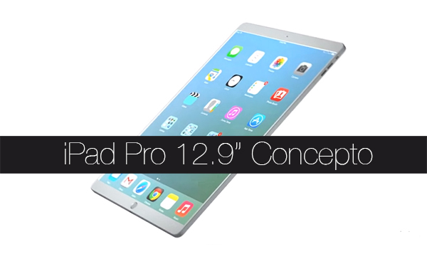 iPad Pro 13 Pulgadas - Concepto