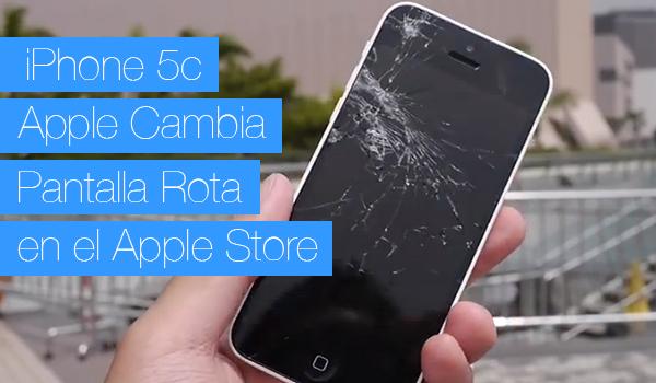 iPhone 5c Cambio Pantalla Apple Store