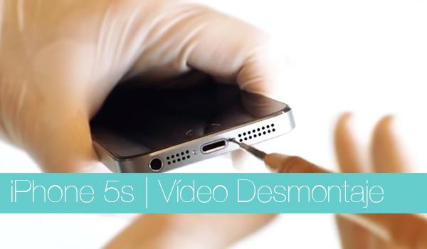 iPhone 5s - Video Desmontaje