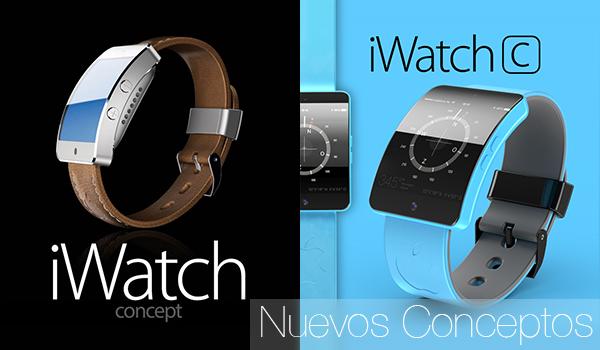 iWatch S iWatch C - Conceptos