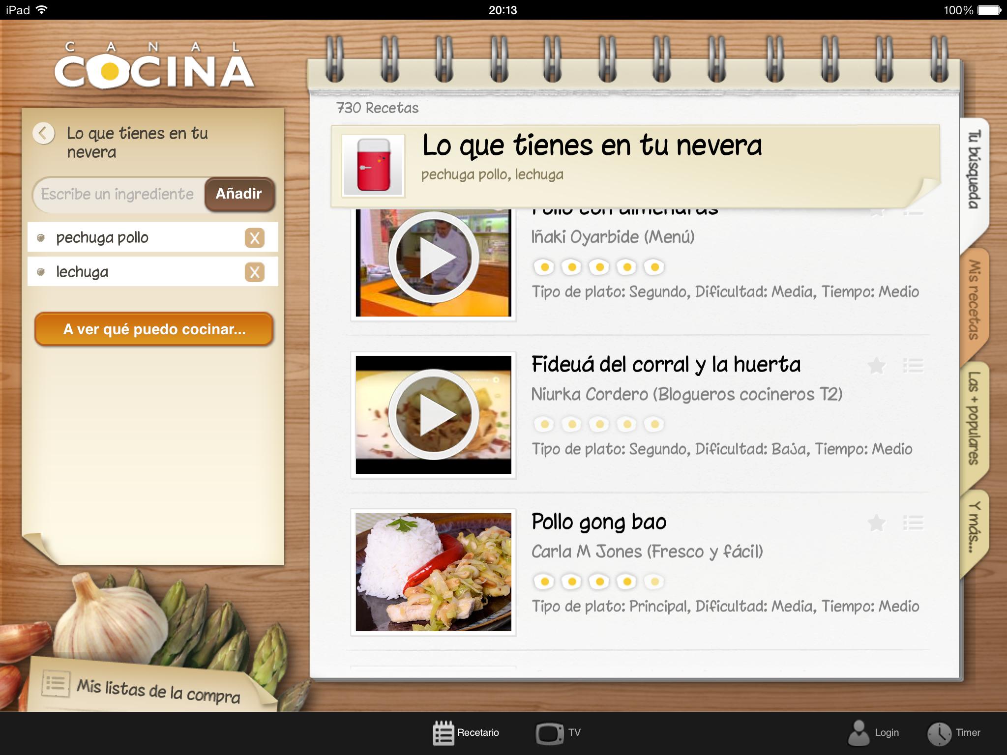 Canal Cocina - screenshot 3