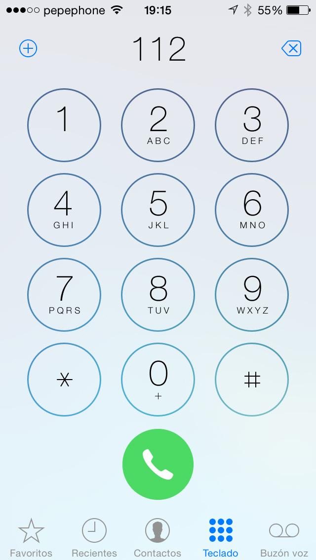 Llamadas iOS 7.1 - screenshot 3