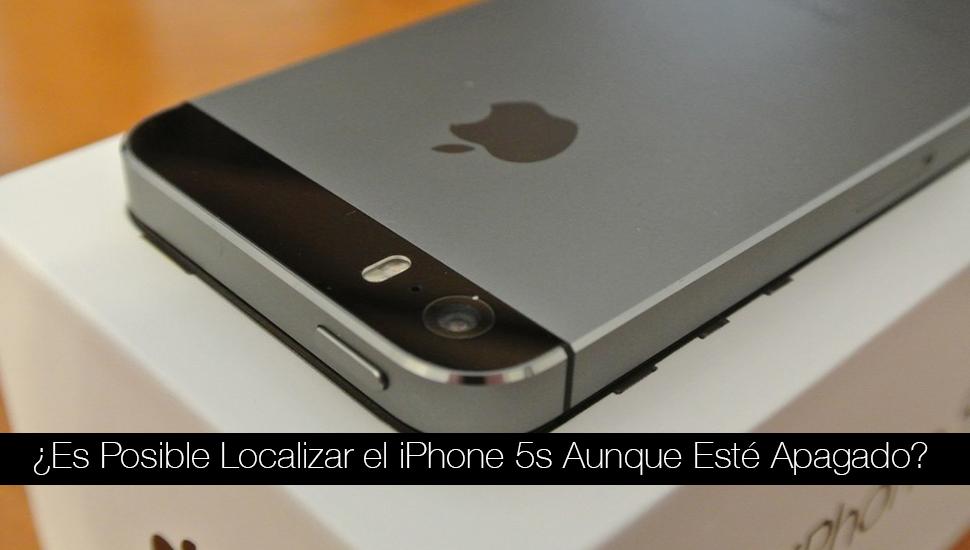Localizar iPhone 5s Apagado