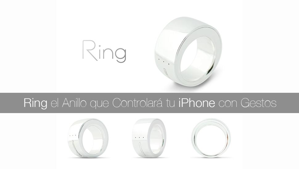 Ring Anillo Contraldor iPhone