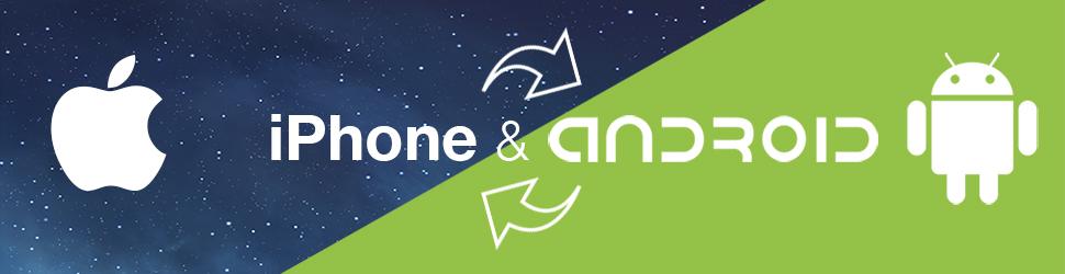 Sincronizar Contactos iPhone Android