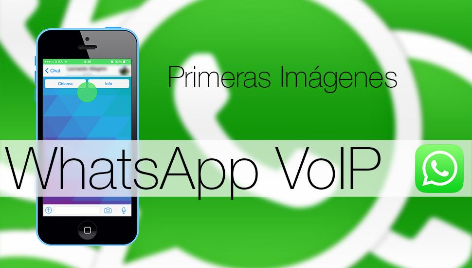 WhatsApp VoIP Imágenes