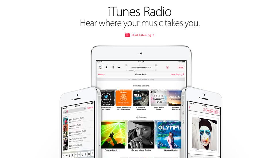 iTunes Radio iOS 7.1