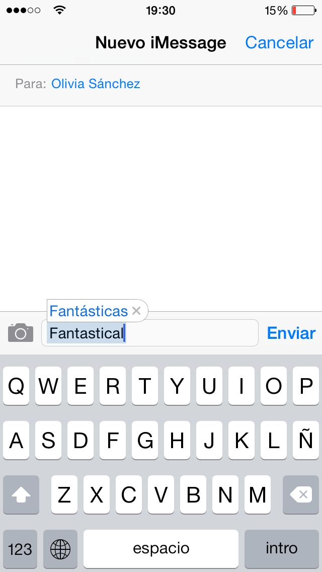 Diccionario iOS - screenshot 1