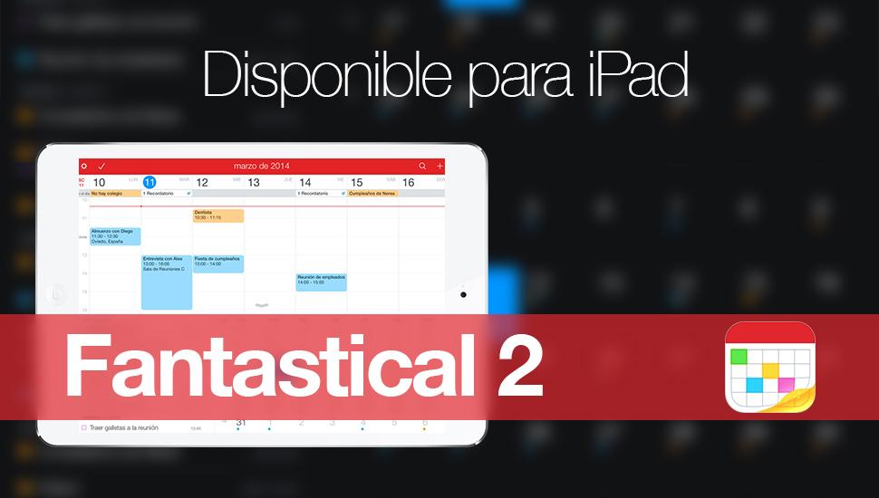 Fantastical 2 iPad
