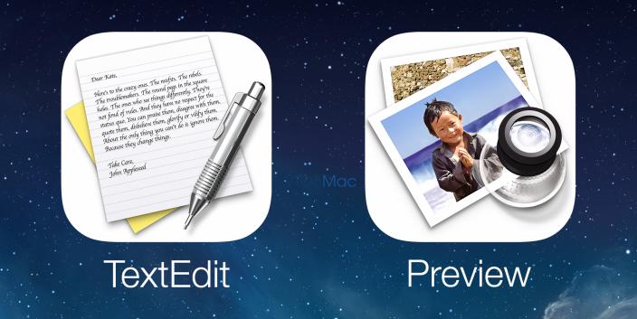 Preview Texedit - iOS 8 Rumor
