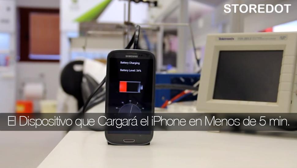 StoreDot Cargador iPhone