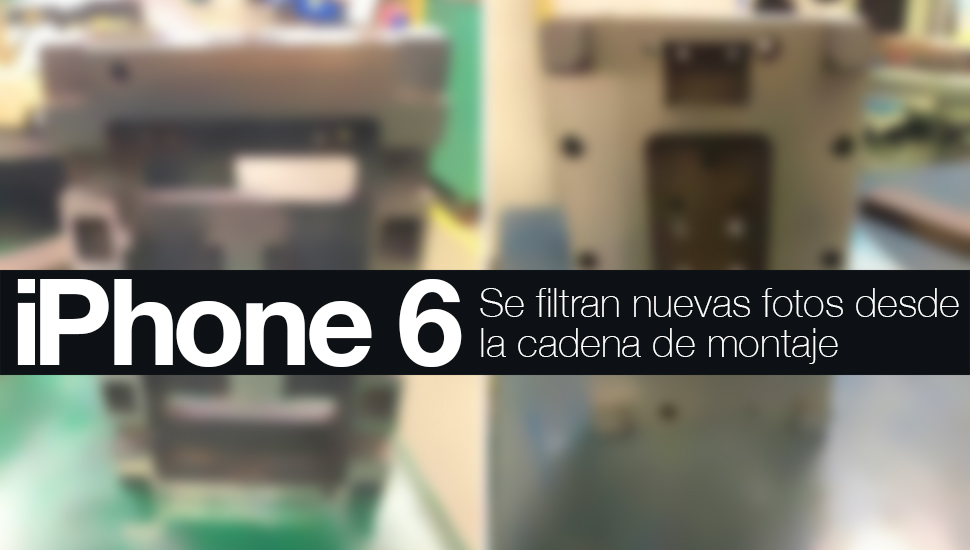 iPhone 6 Foto Cadena Montaje
