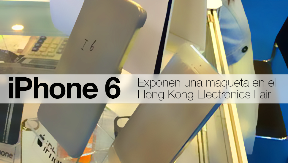 iPhone 6 maqueta video