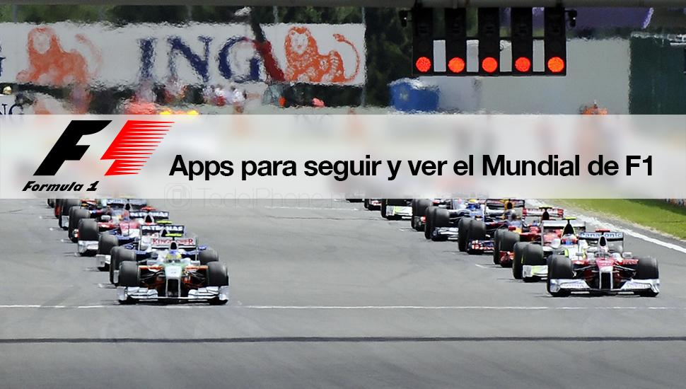Apps seguir ver Mundial F1