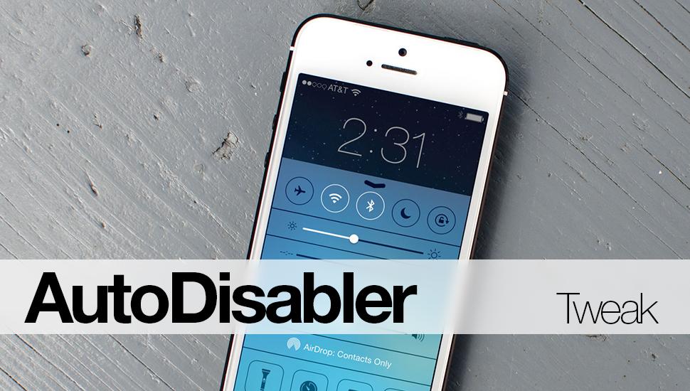 AutoDisabler-Tweak