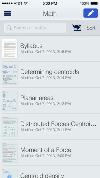 Notability - screenshot 3