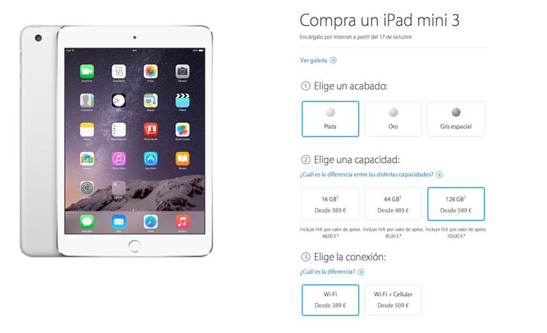 Apple iPad 2 32GB 3 or 4 64GB or 128GB Air or Air 2 mini or mini 216GB