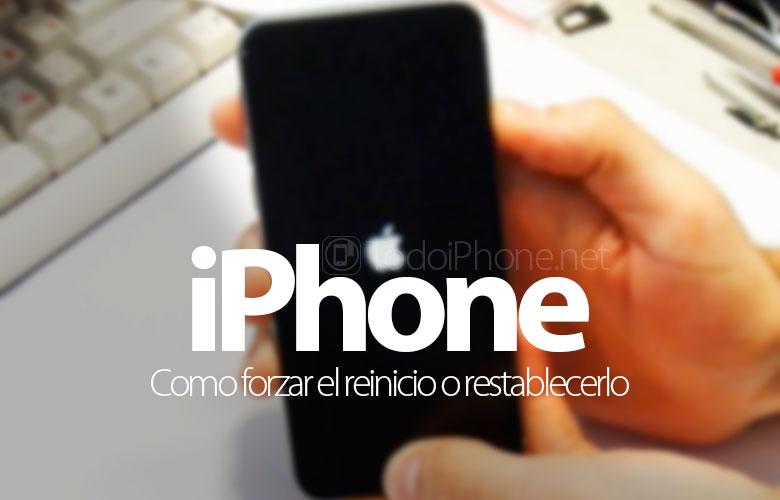 Como Forzar Reinicio O Restablecer El Iphone Y Ipad