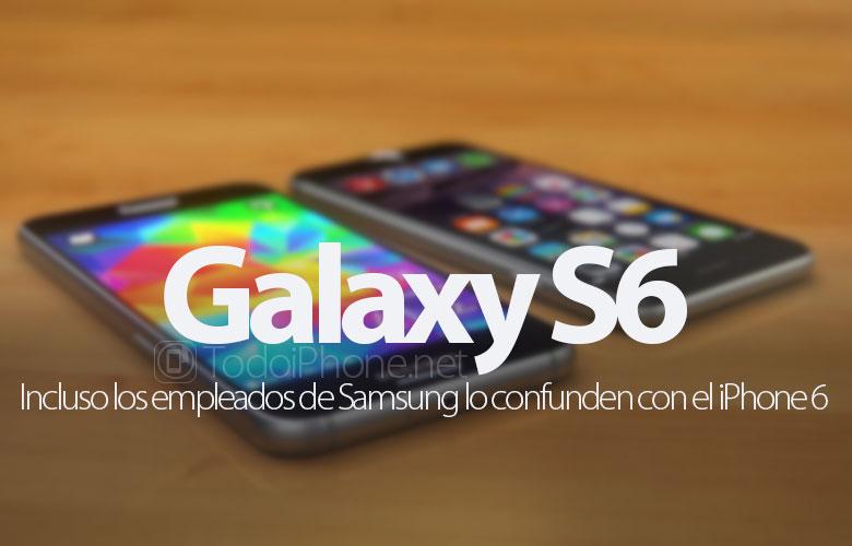 empleados-samsung-confunden-galaxy-s6-iphone-6