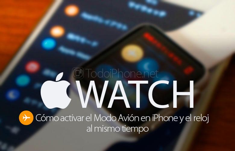 como-activar-modo-avion-iphone-apple-watch