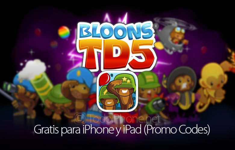 bloons-td5-gratis-iphone-ipad-promo-codes