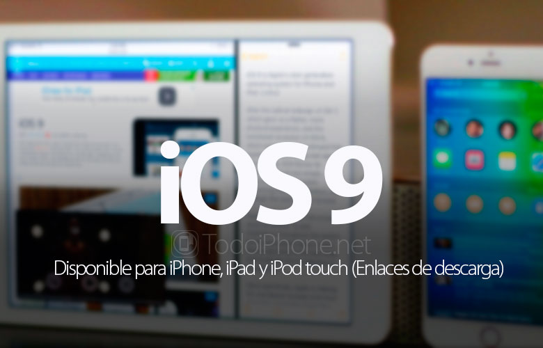 ios-9-disponible-iphone-ipad-ipod-touch-enlaces