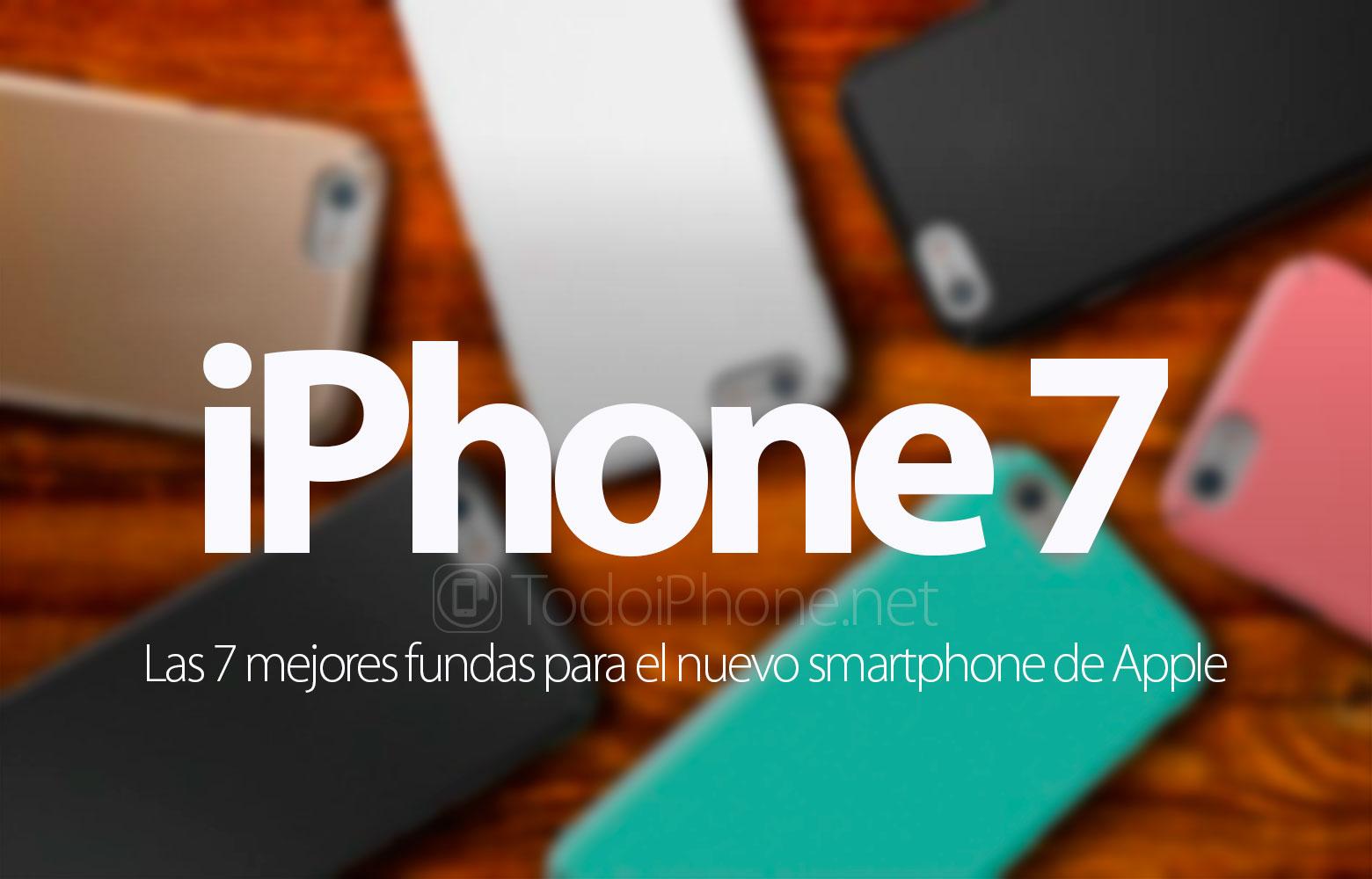Apple presenta 6 nuevas fundas de colores para el iPhone 7